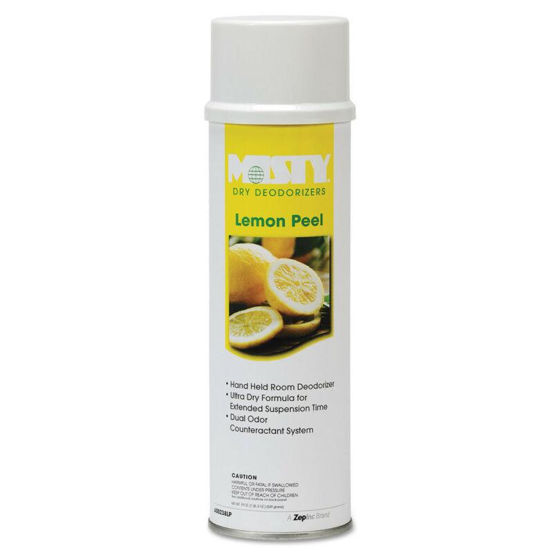 Amrep Handheld Air Deodorizer, Lemon Peel, 10oz Aerosol, 12/carton 1001842 NEW