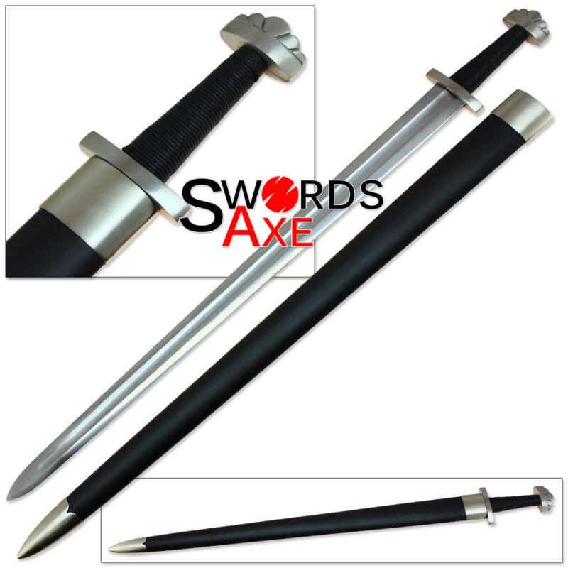 Ulfberht Vikings Norse Raider Valhalla Battle Sword 1060 Spring Steel Functional