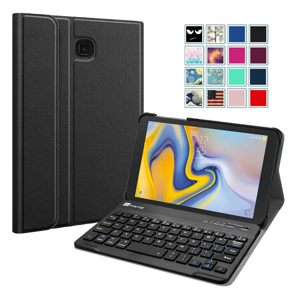 Case for Samsung Galaxy Tab A 8.0 2018 Model SM-T387 w/ Bluetooth Keyboard