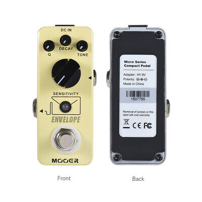 Mooer Envelope 100% Analog Auto Wah Electric Guitar Effects Pedals Footswitch