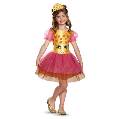 Girls Shopkins Classic Kooky Cookie Costume (Cookie Girl Costume)