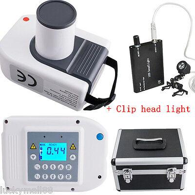 Digital Dental X Ray Machine Intra-oral Laptop Imaging Unit 30k Head Lightcase