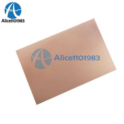 70x105x1.5mm Fr4 Copper Clad Laminate Sheet Circuit Double Side Pcb 10.5x7cm