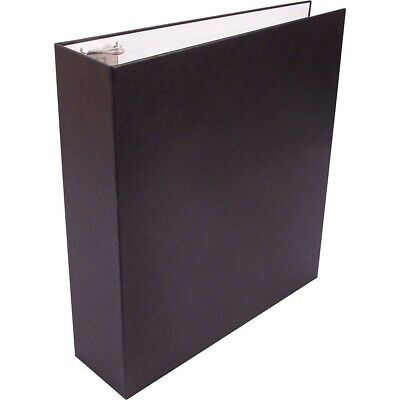 Staples Recyclable 2-inch D 3-ring Binder Black 959857