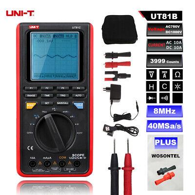 Uni-t Ut81b Digital Multimeter Meter Tester Oscilloscope Usb Interface Tools