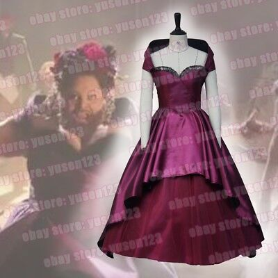 The Greatest Halloween Costumes (The Greatest Showman Lettie Lutz Bearded Lady Dress Cosplay Costume)