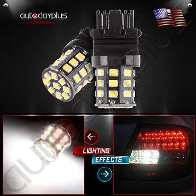 2X High Power AX 2835 Chipsets Tail Brake Stop Light bulbs 3057 3457 4157 3047