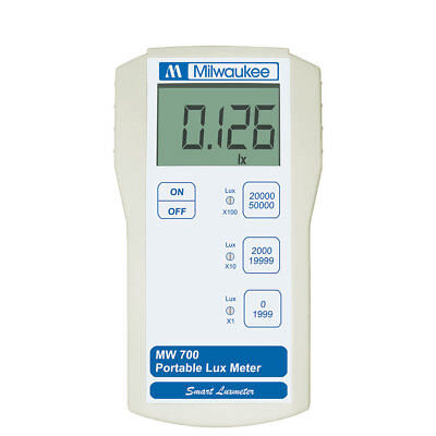 Milwaukee Instruments Lux Light Measurement Portable Meter Micro Processor Mw700