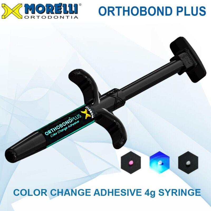 Morelli Dental Orthodontic Adhesive Color Change Bonding Metal Ceramic Brackets