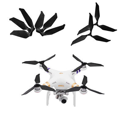 1Pair Low-noise RC Drone 3-Blades 9455S Propellers Parts for DJI Phantom 3 RC830