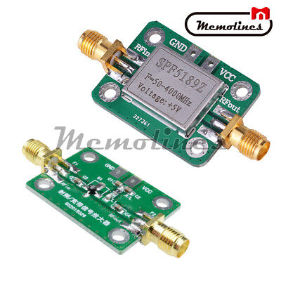 Rf Amplifier Module 0.1-6000mhz Low Noise Signal Receiver Lna Board Spf5189