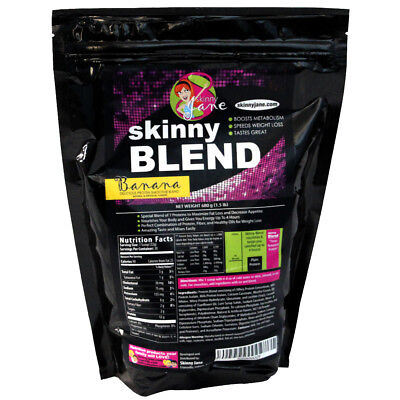 Skinny Blend Best Tasting Weight Loss Shake for Women Diet Low Carbs 30