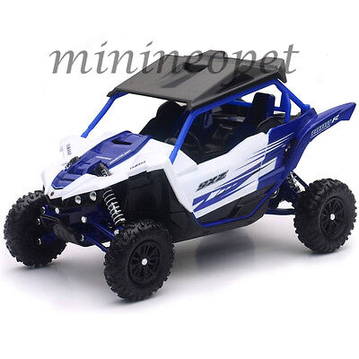 NEW RAY 57813 A YAMAHA YXZ 1000R TRIPLE CYLINDER ATV 1/18 BLUE WHITE for sale  Shipping to India