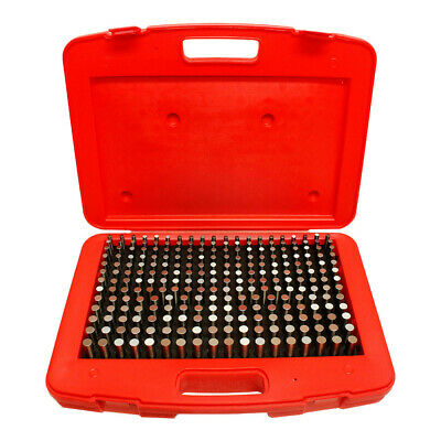 250 Pc Plus 0.251 - 0.500 M2 Steel Pin Gage Set Gauge Set Metal Steel Plug