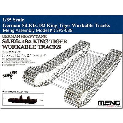 Meng SPS-038 1/35 German Sd.Kfz.182 King Tiger Workable Tracks Assembly Model  for sale  China