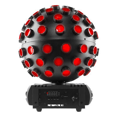 Chauvet DJ Rotosphere Q3 Rotating Mirror Ball RGBW LED Light Effect Simulator