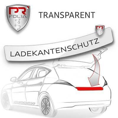 Passend f Mercedes S-Klasse W222 Ladekantenschutz Folie TRANSPARENT