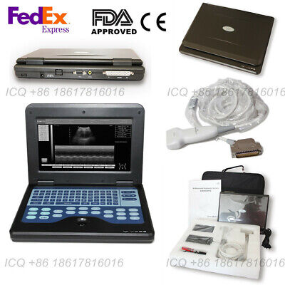 Diagnostic Sonography Portable Ultrasound Scanner Machinelinear Probe 5.0-10.0m