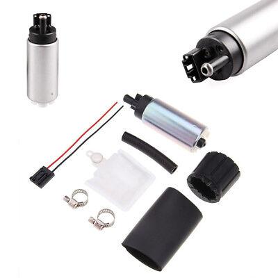 0-100 psi Auto Car Intank Gasoline Electric Fuel Pump Regulator Fuel+Clamps Set