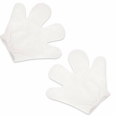 German Trendseller®  Mickey Maus Hände - Weiß Kostüm  Mäuserich Mausi Finger ()