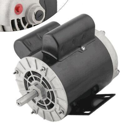 2 Hp Spl Air Compressor Electric Motor 56 Frame Single Phase 3450rpm 58 Shaft