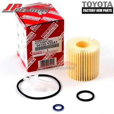 Scion Oil Drain Plug Gasket - GENUINE OEM TOYOTA LEXUS SCION OIL FILTER + DRAIN PLUG GASKET 04152-YZZA1
