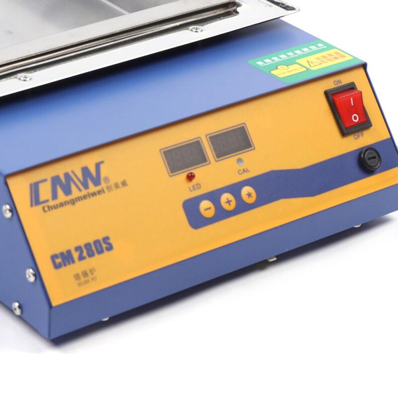 2KW Lead-Free Solder Machine Digital Preheat Soldering Pot 304 Stainless Steel