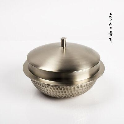 [by Artisan Jin-Ho Lee]Korean Bangjja Yugi Rice Pot - Medium Size