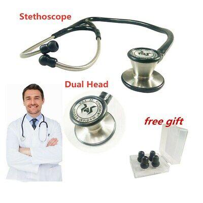 Medical Stethoscope Cardiology Dual Head For Pro Nurse Doctor Vet Kindcare Hot