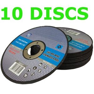 10-x-115mm-Thin-metal-cutting-discs-stainless-steel-slitting-discs-cut-off-disc