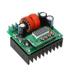 400W DC-DC Step-up Module Boost Converter Adjustable Output Volt Output Current