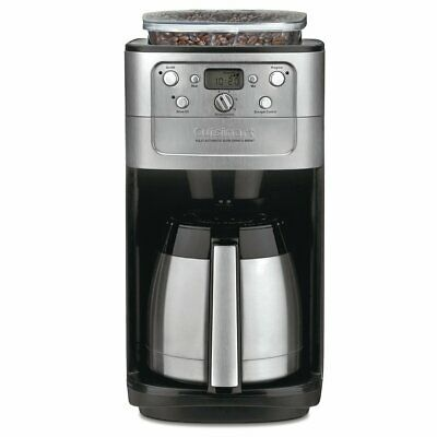 Cuisinart DGB-900BC Burr Mash and Brew Thermal 12-Cup Automatic Coffee Maker