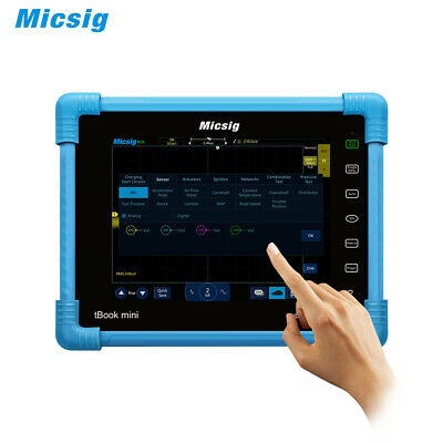 Micsig Pro Automotive Tablet Oscilloscope Ato1104 Dso Analyzers 8 Tft Lcdgifts