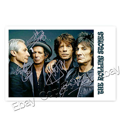 The Rolling Stones Ronnie Wood, Mick Jagger, Keith Richards, C.Watts, Bill Wyman