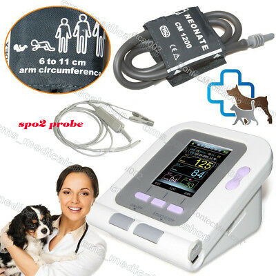 08a-vet Digital Blood Pressure Monitorveterinaryanimal Nibpspo2 Probe