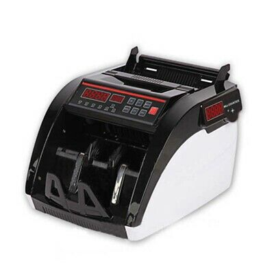 110v Currency Count Machine Money Detector Support For Multiple Currencies