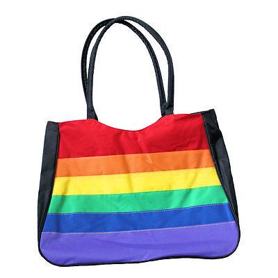 Gay Rainbow Sisters Gay Pride Canvas Tote Bag](Rainbow Bag)