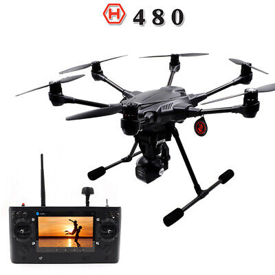 YUNEEC Typhoon H H480 Drone Quadcopter with CGO3 Gimbal 4K-Resolution HD Camera