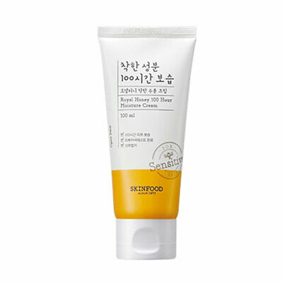 [SKINFOOD] Royal Honey 100 Hour Moisture Cream - 100ml / Free Gift
