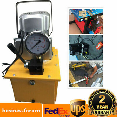 10000psi Electric Driven Hydraulic Pump Single Acting Manual Valve 7l Capacity