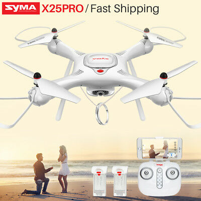 SYMA X25PRO GPS Follow Me Drone FPV Wifi Camera Quadcopter Altitude Hold Return