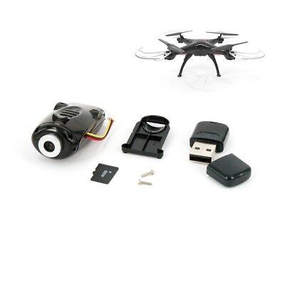 Kamera für SYMA X5SC Quadrocopter schwarz mit SD Karte