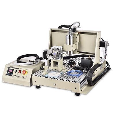 Usb 5axis 6040 Cnc Router Engraving Machine Metal Milling Machine 1.5kw Vfd
