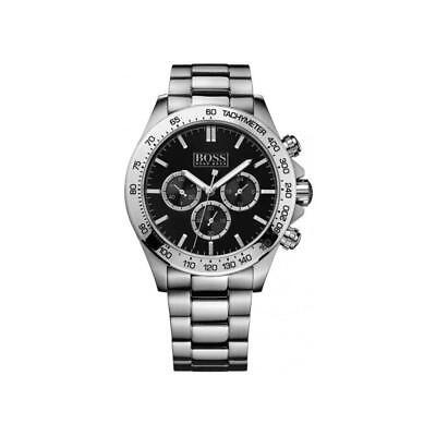 New Hugo Boss Mens Ikon Stainless Steel Chronograph Watch - HB1512965