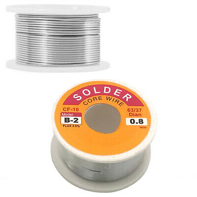 6337 Tin Lead Rosin Core Soldering Wire Electrical 0.8mm100g For Circuit Board