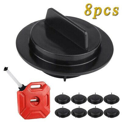 8pcs Gas Can Stopper Cap Gasket Spout Parts For Essence Igloo Midwest Scepter