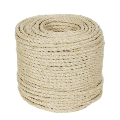 GOLBERG All Natural Sisal Rope - Crafting, Rugs, Cat Toys & More - Pet Safe Cord ()