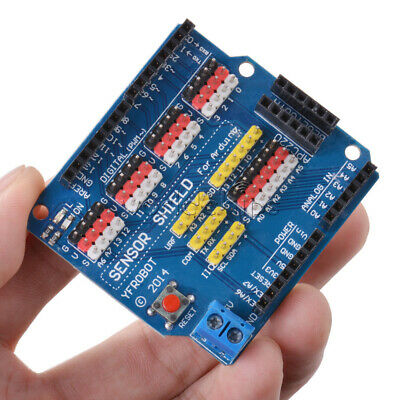 V5 Sensor Shield Expansion Board For Arduino Uno R3 V5.0 Electric Module