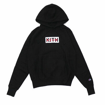 KITH TREATS TOKYO 1st anniversary hoodie black Limited Edition S Small US seller
