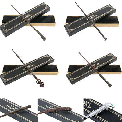 Movie Harry Potter Magic Magical Wand Metal Prop Stick Cosplay Gifts In Box - Toy Wands